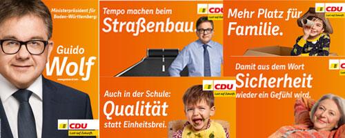 Cdu Wahlplakate